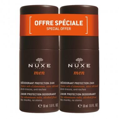 Nuxe Men Дезодорант рол-он за мъже против изпотяване 50мл 1+1