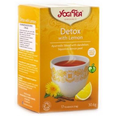 Yogi Tea, Детокс чай с Лимон 30,6гр., 17 бр.
