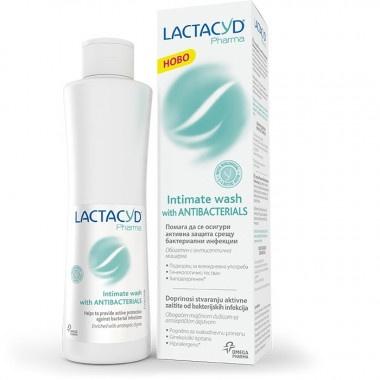Lactacyd Pharma Гел интимен антибактериален за ежедневна интимна грижа 250мл