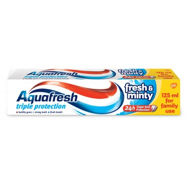 Aquafresh Fresh & Minty Паста за зъби 125мл