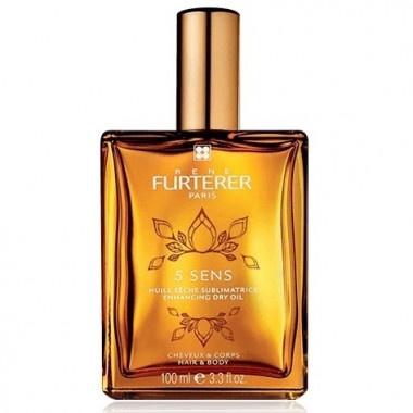 Rene Furterer 5 Sens Сухо масло за коса и тяло 100мл