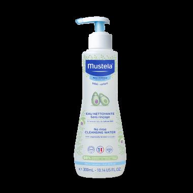 Mustela Bebe Вода почистваща без изплакване 300мл