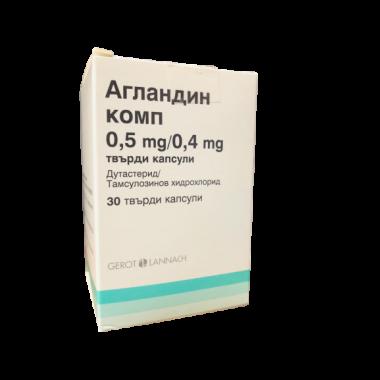 АГЛАНДИН КОМП. КАПС. 0,5МГ/04МГ Х 30