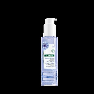 """Klorane Bleuet тонизиращ серум за лице """"Събуди се"""" със синя метличина, отгледана чрез органично земеделие и хиалуронова киселина 50мл."""