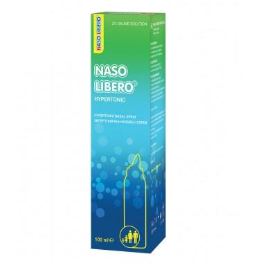 Naso Libero Hypertonic (Назо либеро) - хипертоничен назален спрей, 2% NaCl 100мл