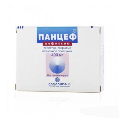 ПАНЦЕФ ТБ 400МГ Х 10