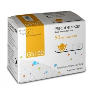 BIONAME ТЕСТ ЛЕНТИ GS 100 Х 100(25Х4)