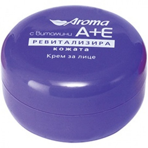 Aroma Ревитализиращ крем с витамин A + E 75мл