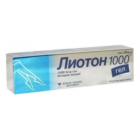 ЛИОТОН 1000 ГЕЛ 50ГР
