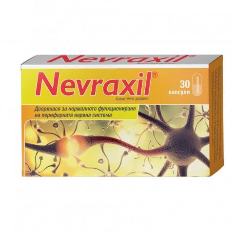 Снимка на Невраксил, за периферната нервна система х 30 капсули за 19.89лв. от Аптека Медея
