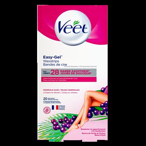 Снимка на Veet Депилиращи ленти за тяло за нормална кожа х 20 за 15.59лв. от Аптека Медея