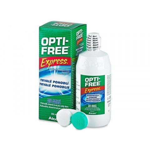 Opti-Free (Опти фри) Експрес, Разтвор за лещи, 355мл, Алкон