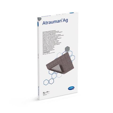 Снимка на Hartmann Atrauman Ag мазева превръзка с контактен слой, импрегниран със сребро 10см/20см х 3 броя за 26.39лв. от Аптека Медея