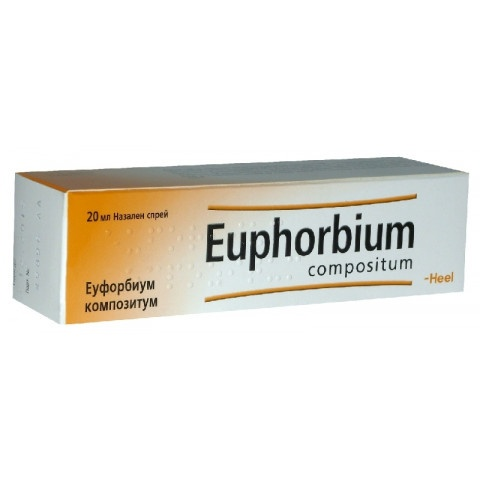 Еуфорбиум Композитум, Спрей за нос при Ринит (хрема), хроничен синузит, 20мл