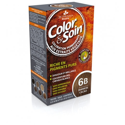 Снимка на 3 Chenes Боя за коса 6B кафяво какао 135мл за 23.29лв. от Аптека Медея