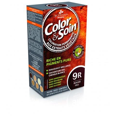 3 Chenes Боя за коса 9R огнено червено 135мл