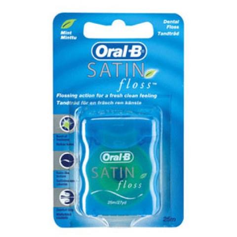 Oral-B Satin Floss конец заа зъби х 25 метра