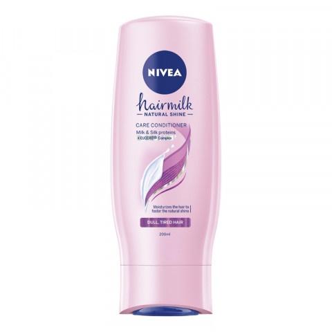 Nivea Hairmilk Natural Shine Балсам Хидратиращ 200мл