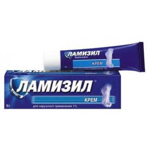 Ламизил Крем при гъбични инфекции, 1%, 15гр.