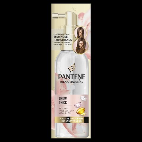Pantene Pro-V Miracles Grow Thick спрей за сгъстяване и уплътняване на фина коса 100мл