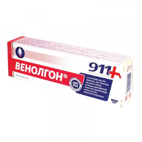 ВЕНОЛГОН ГЕЛ 100МЛ 911