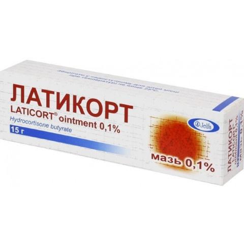 ЛАТИКОРТ УНГ 0.1% 15ГР