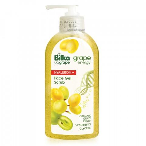 Снимка на Bilka Up Grape Hyaluron+ Гел скраб за лице 200 мл за 5.19лв. от Аптека Медея