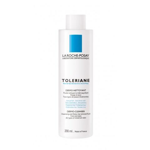 La Roche-Posay Toleriane Мляко с флуидна текстура, богато на хидратиращ глицерин 200мл