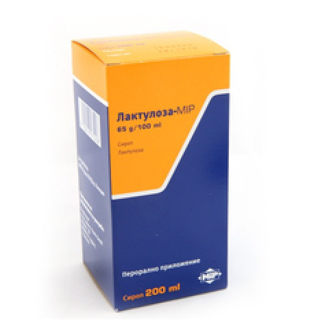 Лактулоза-MIP, Сироп при запек, 200мл
