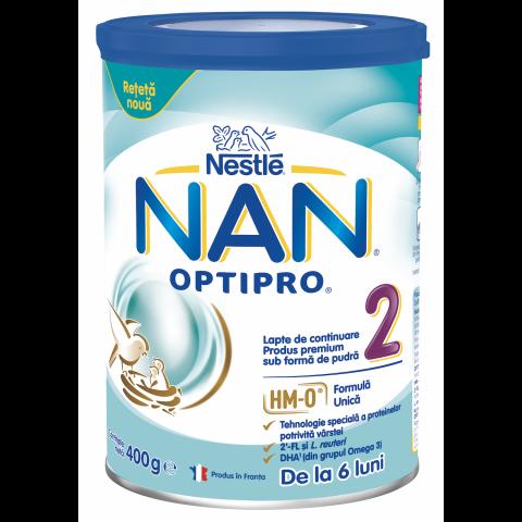 NAN OptiPro 2 Преходно мляко за деца, от 6-тия месец х 400гр