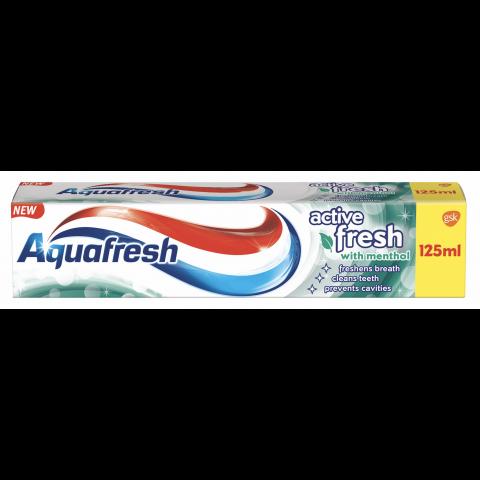 Снимка на Aquafresh Active Fresh паста за зъби 125мл. за 2.8лв. от Аптека Медея