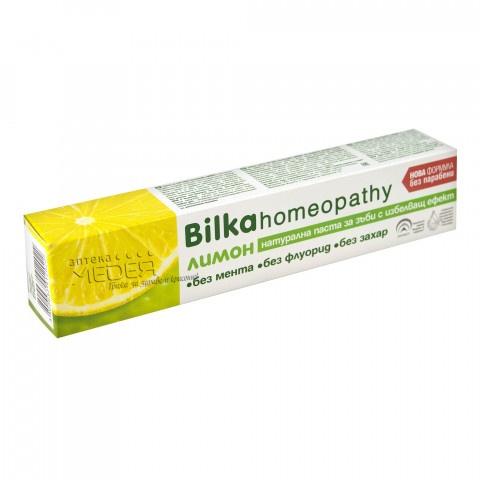 Bilka Homeopathy Паста за зъби лимон 75 мл