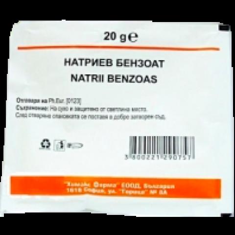 Снимка на CHEMAX НАТРИЕВ БЕНЗОАТ 50Г за 1.29лв. от Аптека Медея