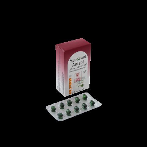 Мукоплант Анисол, 30 капсули, Натурпродукт