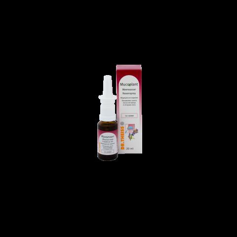 Снимка на Мукоплант, Морска вода със салвия, Спрей за нос, 20мл за 6.39лв. от Аптека Медея