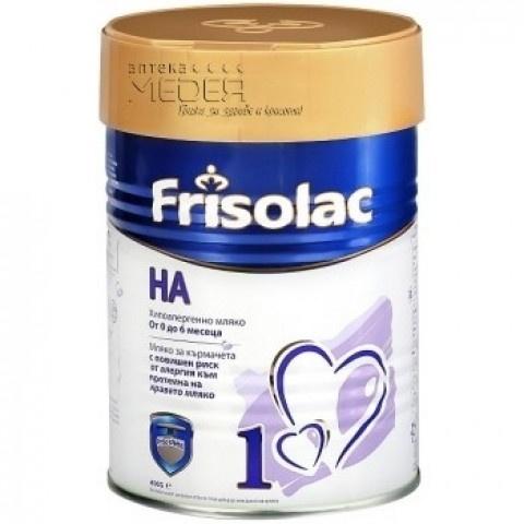 Снимка на FRISO HA 1 400ГР за 22.29лв. от Аптека Медея