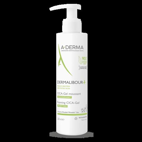 Снимка на A-Derma Dermalibour+ Cica почистващ, пенещ се гел при раздразнена кожа 200мл за 27.79лв. от Аптека Медея
