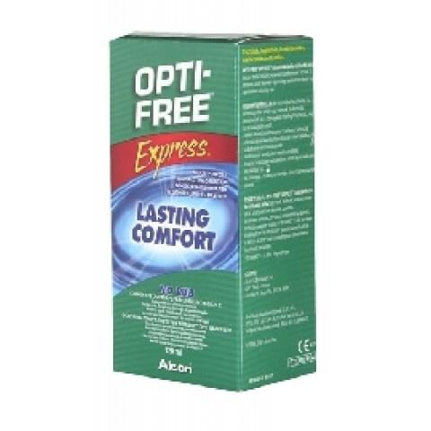 Opti-Free (Опти фри) Експрес, Разтвор за лещи, 120мл, Алкон