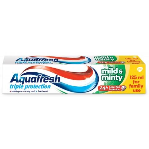 Aquafresh Mild & Minty Паста за здрави зъби, здрави венци и свеж дъх 125мл