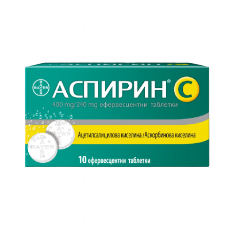 Снимка на АСПИРИН + ВИТАМИН Ц ЕФФ ТБ Х 10 БАЙЕР за 6.69лв. от Аптека Медея