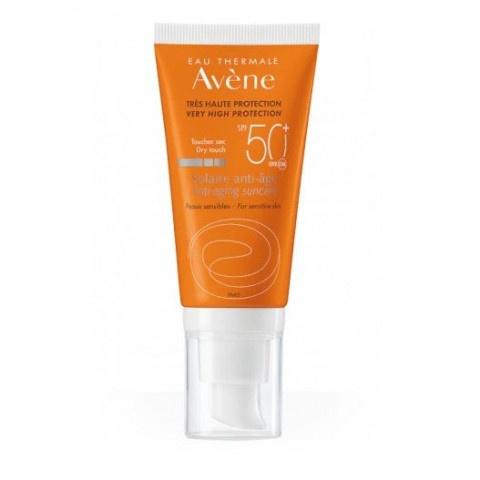 Avene Anti Age SPF50ᐩ крем препоръчан за хора със свръхчувствителна кожа към слънце 50мл. промо