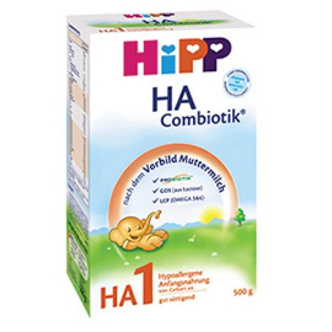 HIPP МЛЯКО ХА 1 КОМБИОТИК 350ГР