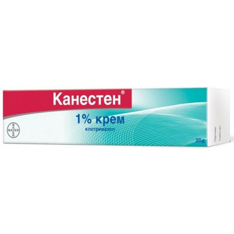 Снимка на КАНЕСТЕН КРЕМ 1% Х 20ГР за 9.19лв. от Аптека Медея