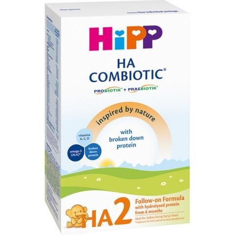 HiPP HA 2 Combiotic Хипоалергенно адаптирано мляко от 6 месяц 350гр