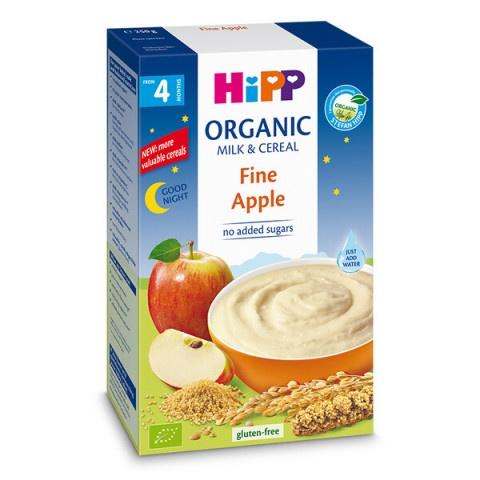 """Hipp BIO Инстантна млечна каша """"Лека нощ"""" - мека ябълка след 4-ия месец 250гр"""