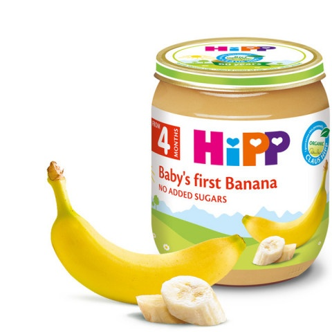 HIPP ПЮРЕ БАНАНИ 125ГР