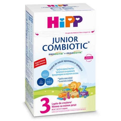 Hipp Combiotic 3 Junior Мляко за малки деца от 1-та година 500гр