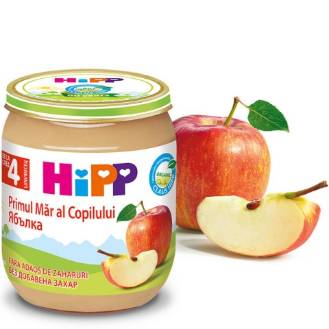 HIPP ПЮРЕ ЯБЪЛКИ 125ГР