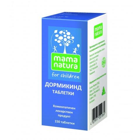 Дормикинд при безсъние и безпокойство при кърмачета и малки  деца, 150 таблетки, DHU