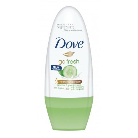 Dove Deo Go Fresh Cucmber & Green Tea Дезодорант рол-он 50 мл